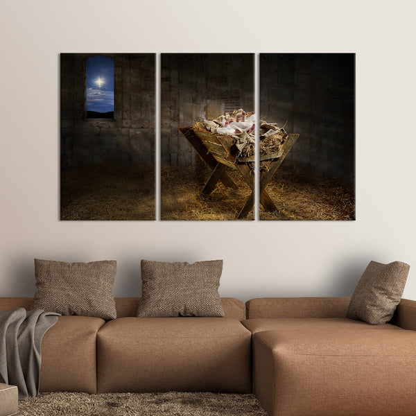 Jesus Bed Multi Panel Canvas Wall Art