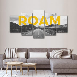 Keep Roaming Multi Panel Canvas Wall Art - Inspiration