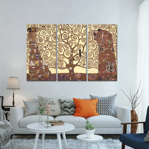 The Tree Of Life Multi Panel Canvas Wall Art - Classic_art