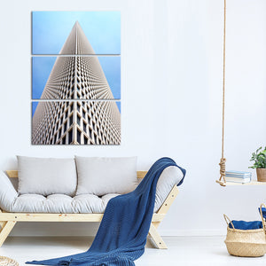 High Rise Multi Panel Canvas Wall Art - Architecture