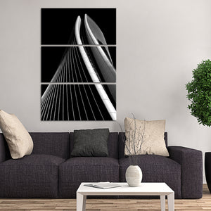 Architectural Curves Multi Panel Canvas Wall Art - Architecture