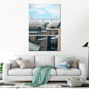 Istanbul Architecture Multi Panel Canvas Wall Art - Architecture