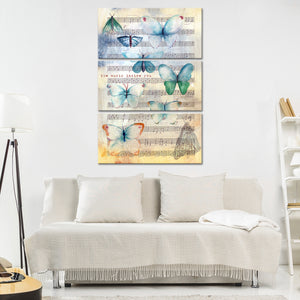 The Music Inside You Multi Panel Canvas Wall Art - Music