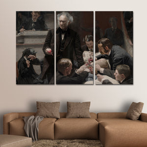 The Gross Clinic Multi Panel Canvas Wall Art - Classic_art