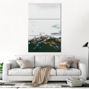 Beautiful Mountainscape Multi Panel Canvas Wall Art - Nature