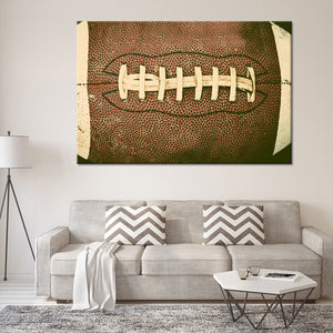 Football Multi Panel Canvas Wall Art - Football