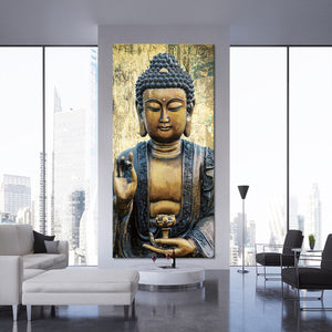 Inner Peace Multi Panel Canvas Wall Art - Buddhism