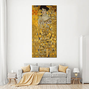 Portrait of Adele Bloch-Bauer I Multi Panel Canvas Wall Art - Classic_art
