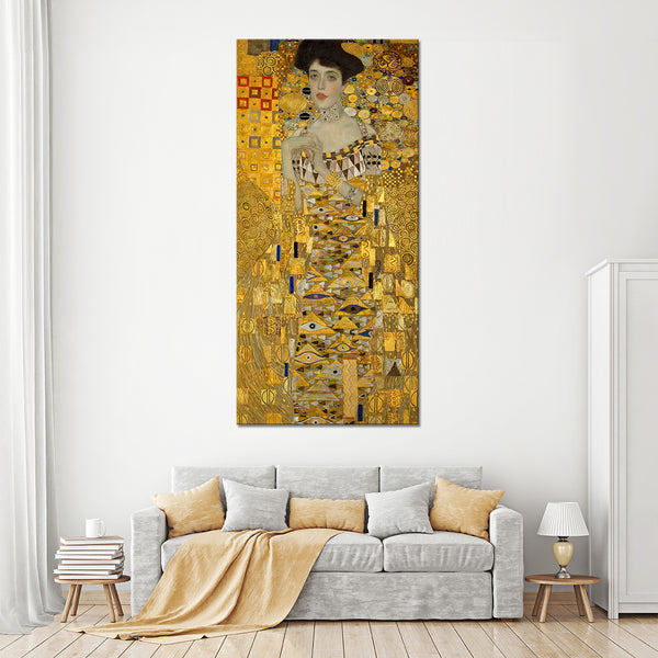 Portrait of Adele Bloch-Bauer I Multi Panel Canvas Wall Art ...