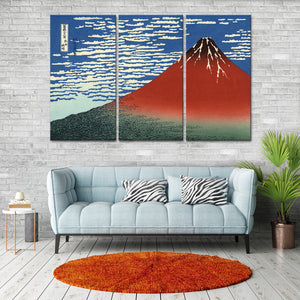 Fine Wind Clear Morning Multi Panel Canvas Wall Art - Classic_art