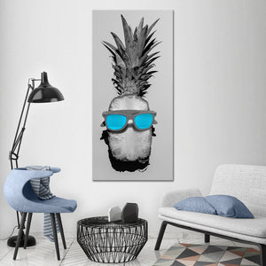 Pineapple Pop Multi Panel Canvas Wall Art - Pineapple