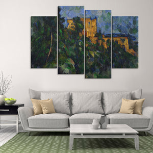 Chateau Noir Multi Panel Canvas Wall Art - Classic_art
