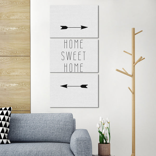 This Is Our Home Multi Panel Canvas Wall Art