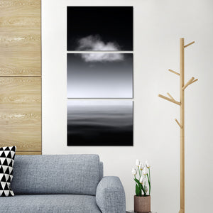Complete Calm Multi Panel Canvas Wall Art - Beach