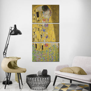 The Kiss Multi Panel Canvas Wall Art - Classic_art