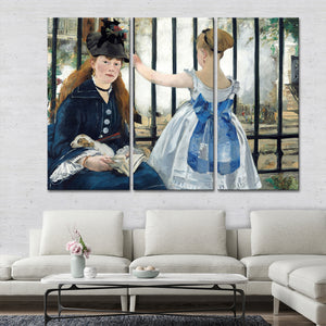 The Railway Multi Panel Canvas Wall Art - Classic_art