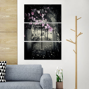 Magical Gateway Multi Panel Canvas Wall Art - Gothic
