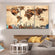 Rustic World Map Masterpiece Multi Panel Canvas Wall Art