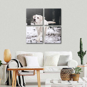 Labrador Retriever Multi Panel Canvas Wall Art - Dog