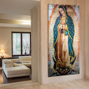 Lady of Guadalupe Multi Panel Canvas Wall Art - Religion