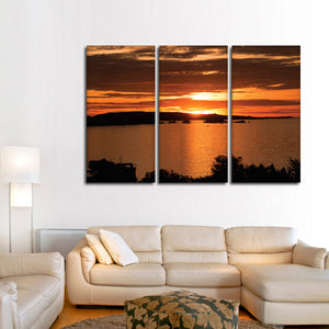 Lake Victoria Multi Panel Canvas Wall Art - Nature