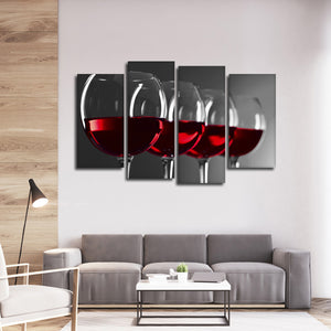 Late Harvest Pop Multi Panel Canvas Wall Art - Winery