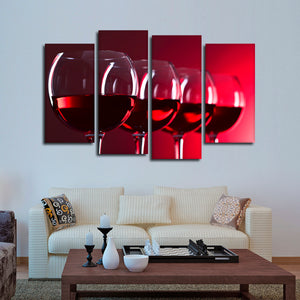 Late Harvest Multi Panel Canvas Wall Art - Winery