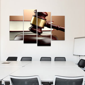 Law Multi Panel Canvas Wall Art - Professionals