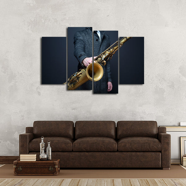 Let It Play You Multi Panel Canvas Wall Art
