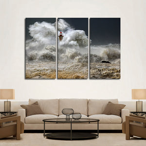 Lighthouse Multi Panel Canvas Wall Art - Lighthouse