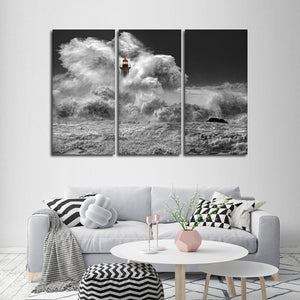 Lighthouse Pop Multi Panel Canvas Wall Art - Lighthouse