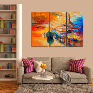 Lighthouses of Barbados Multi Panel Canvas Wall Art - Lighthouse