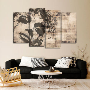 Longing For Love Multi Panel Canvas Wall Art - Portrait