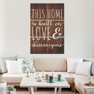 Love And Shenanigans Multi Panel Canvas Wall Art - Inspiration