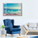 Love The Ocean Breeze Multi Panel Canvas Wall Art