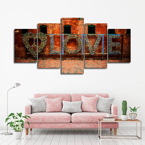 Love Wall Multi Panel Canvas Wall Art - Relationship