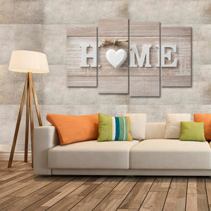 Love at Home Multi Panel Canvas Wall Art - Inspiration