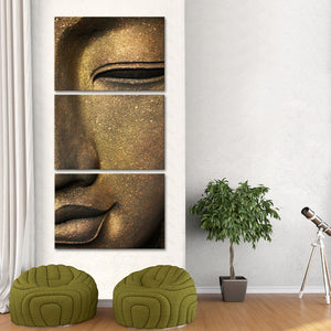 Luminous Buddha Multi Panel Canvas Wall Art - Buddhism