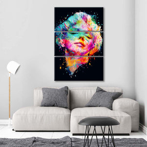 Marilyn Multi Panel Canvas Wall Art - Public_figures