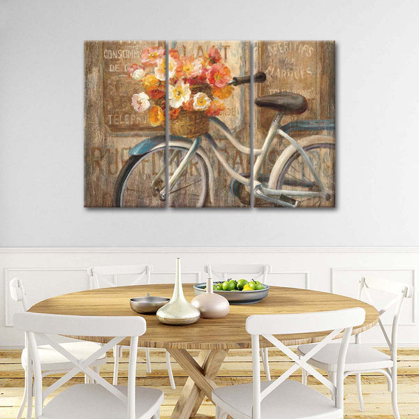 Meet Me at Le Cafe II Multi Panel Canvas Wall Art