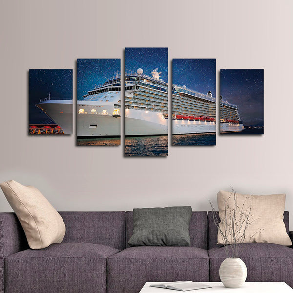 Miami Cruise Multi Panel Canvas Wall Art