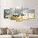 Military Aircraft Multi Panel Canvas Wall Art