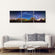 Milky Way Scenery In Sedona Multi Panel Canvas Wall Art