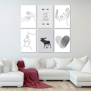 Minimal Combo Canvas Set Wall Art - Minimalism