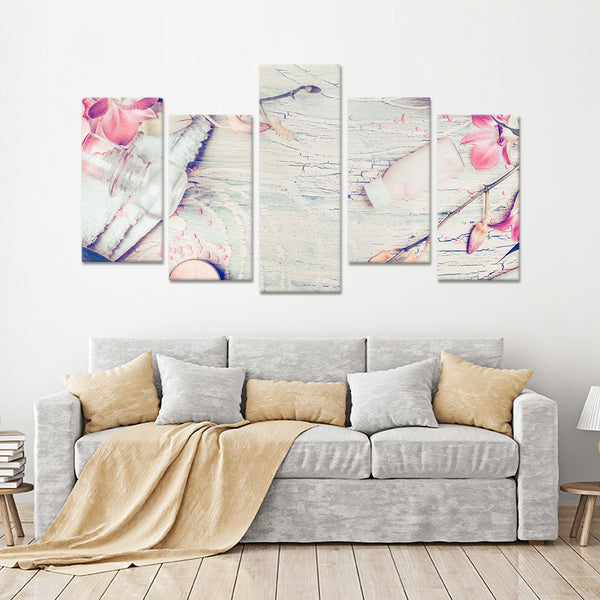 Morning Tranquility Multi Panel Canvas Wall Art