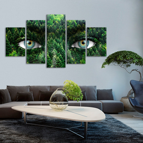 Mother Earth Multi Panel Canvas Wall Art