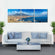 Naples Multi Panel Canvas Wall Art
