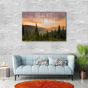 Nature Wanderer Canvas Wall Art - Nature