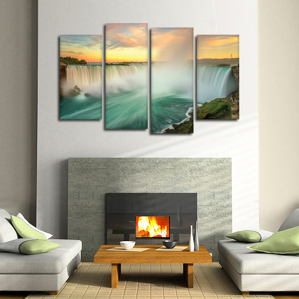 Niagara Falls Multi Panel Canvas Wall Art | ElephantStock