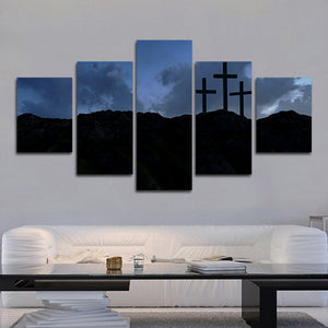 Night Prayer Multi Panel Canvas Wall Art